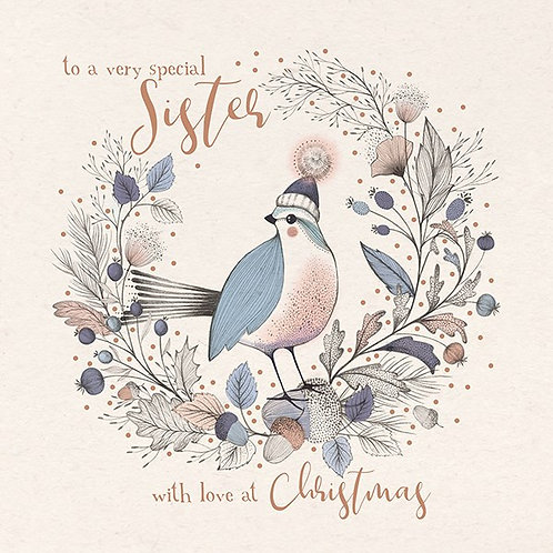 To A Very Special Sister With Love At Christmas