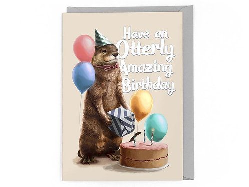 Have An Otterly Amazing Birthday