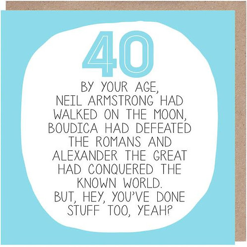 40 By Your Age