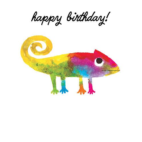 Happy Birthday Colour Chameleon