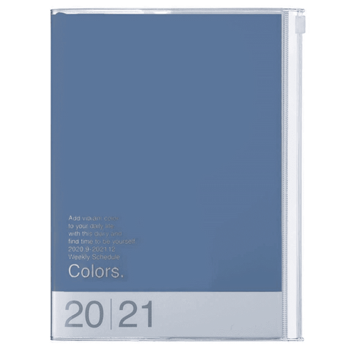 Colors Weekly A5 Diary 2021