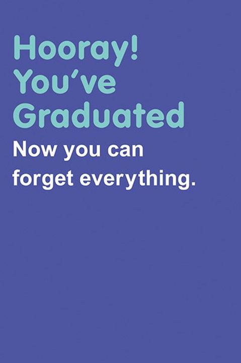 Hooray You've Graduated