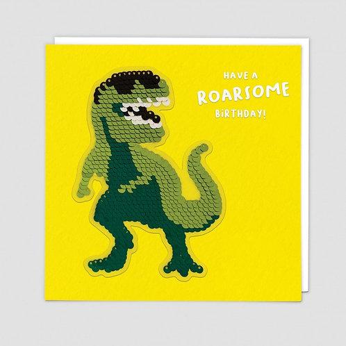 Have A Roarsome Birthday Dinosaur