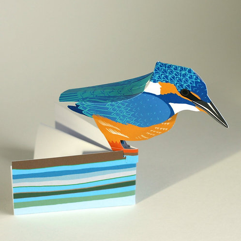 Kingfisher 3-D Pop-Up