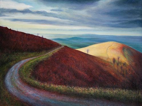 Last Light End Hill Malvern