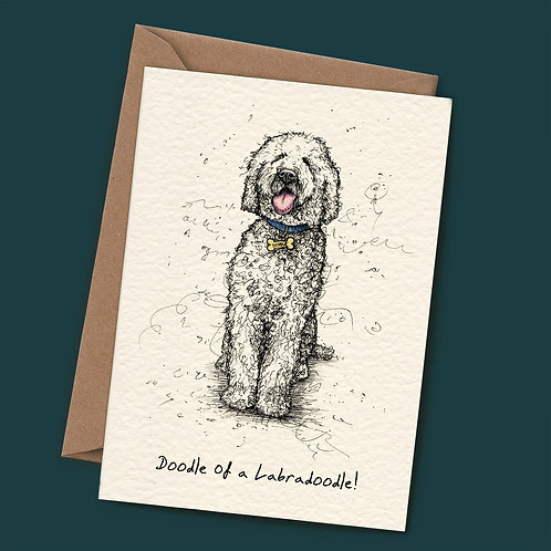 Doodle Of A Labradoodle