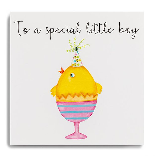 To A Special Little Boy