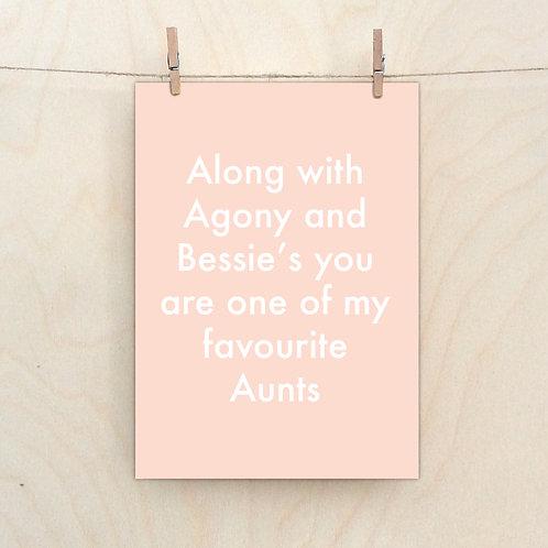 Favourite Aunt