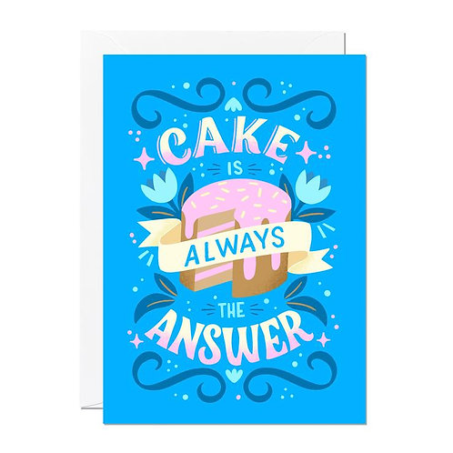 Cake Is Always The Answer