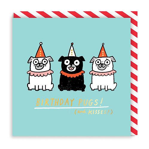 Birthday Pugs