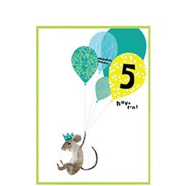 Mouse With Balloon, 5