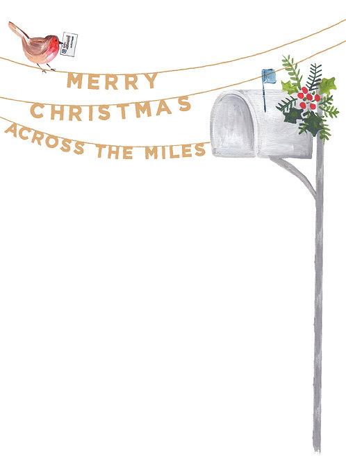 Merry Christmas Across The Miles