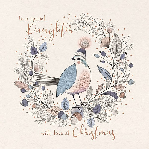 To A Special Daughter With Love At Christmas