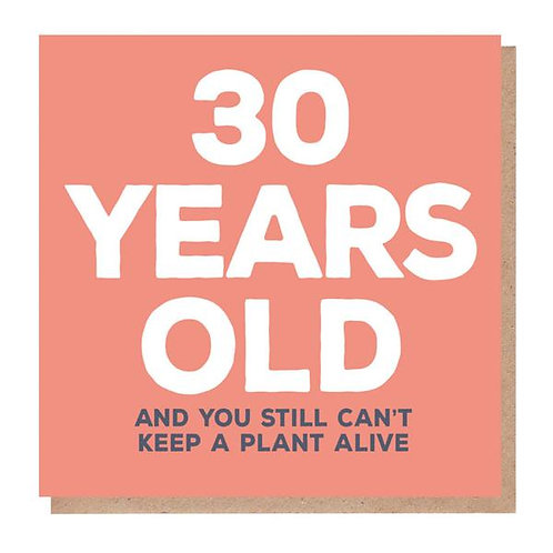 30 Years Old