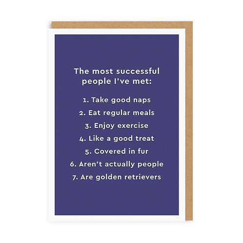 The Most Successful People I've Met