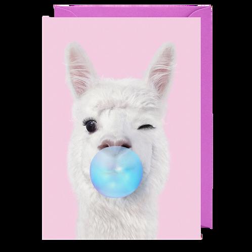 Bubblegum Llama