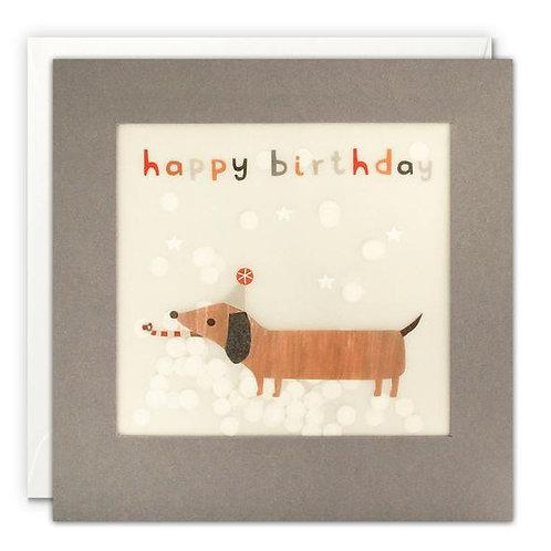 Happy Birthday Sausage Dog