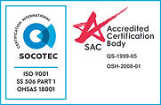 ISO 9001 + SS 506 PART 1 + OHSAS VERTICA
