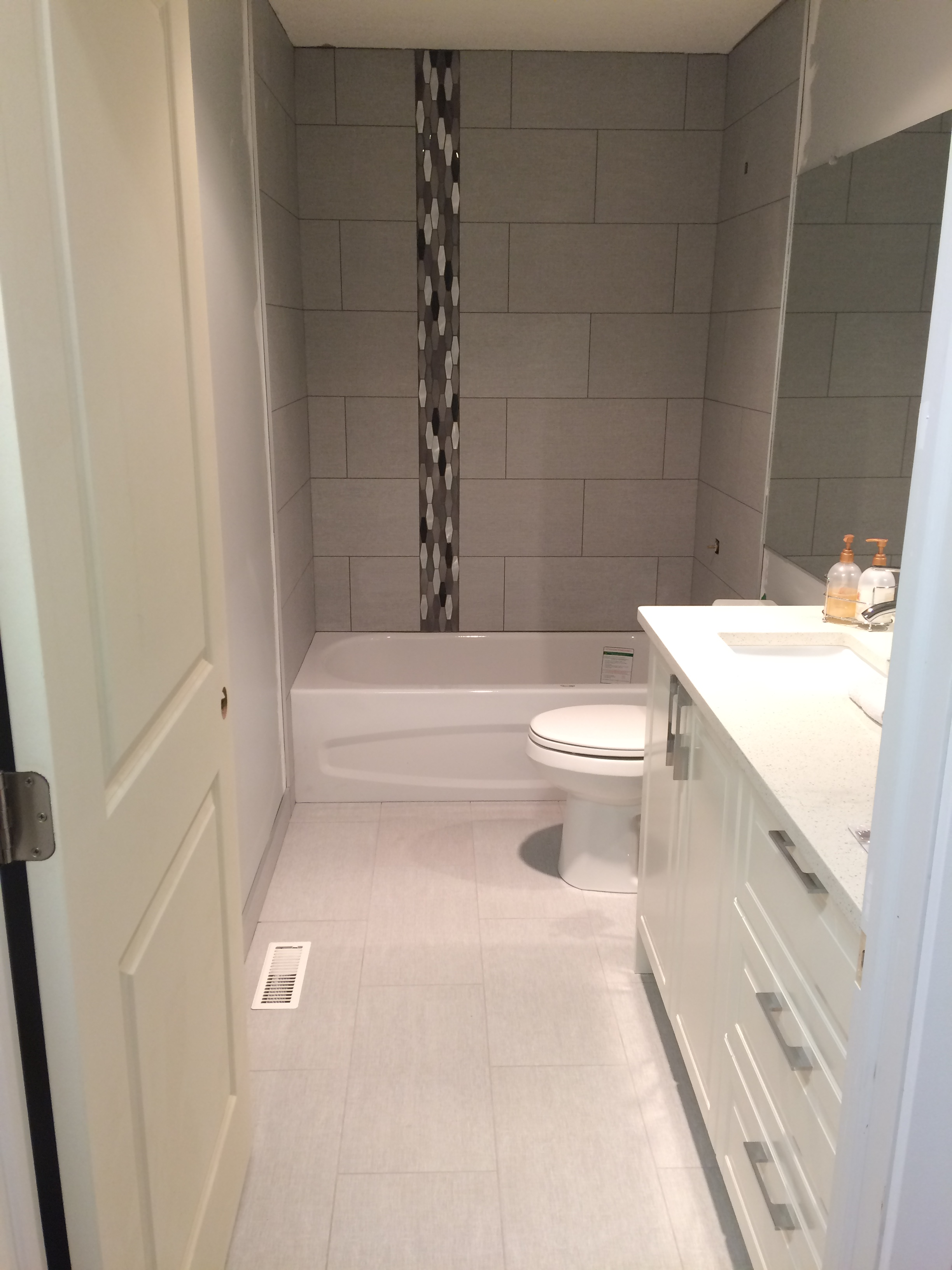 Bathroom renovation (after)