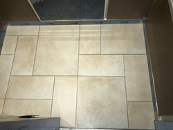 Commercial tile job. Parkview tower in Burnaby