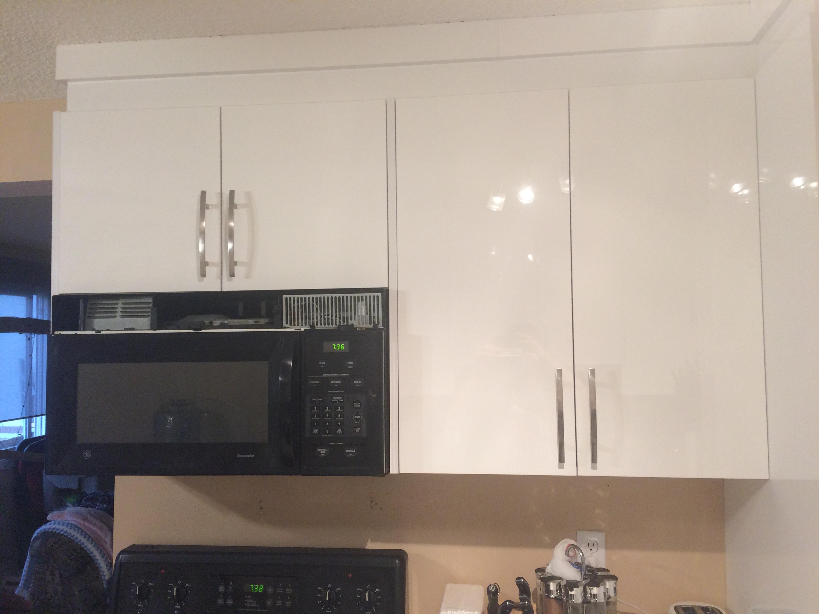 Kitchen splash replacement (before)