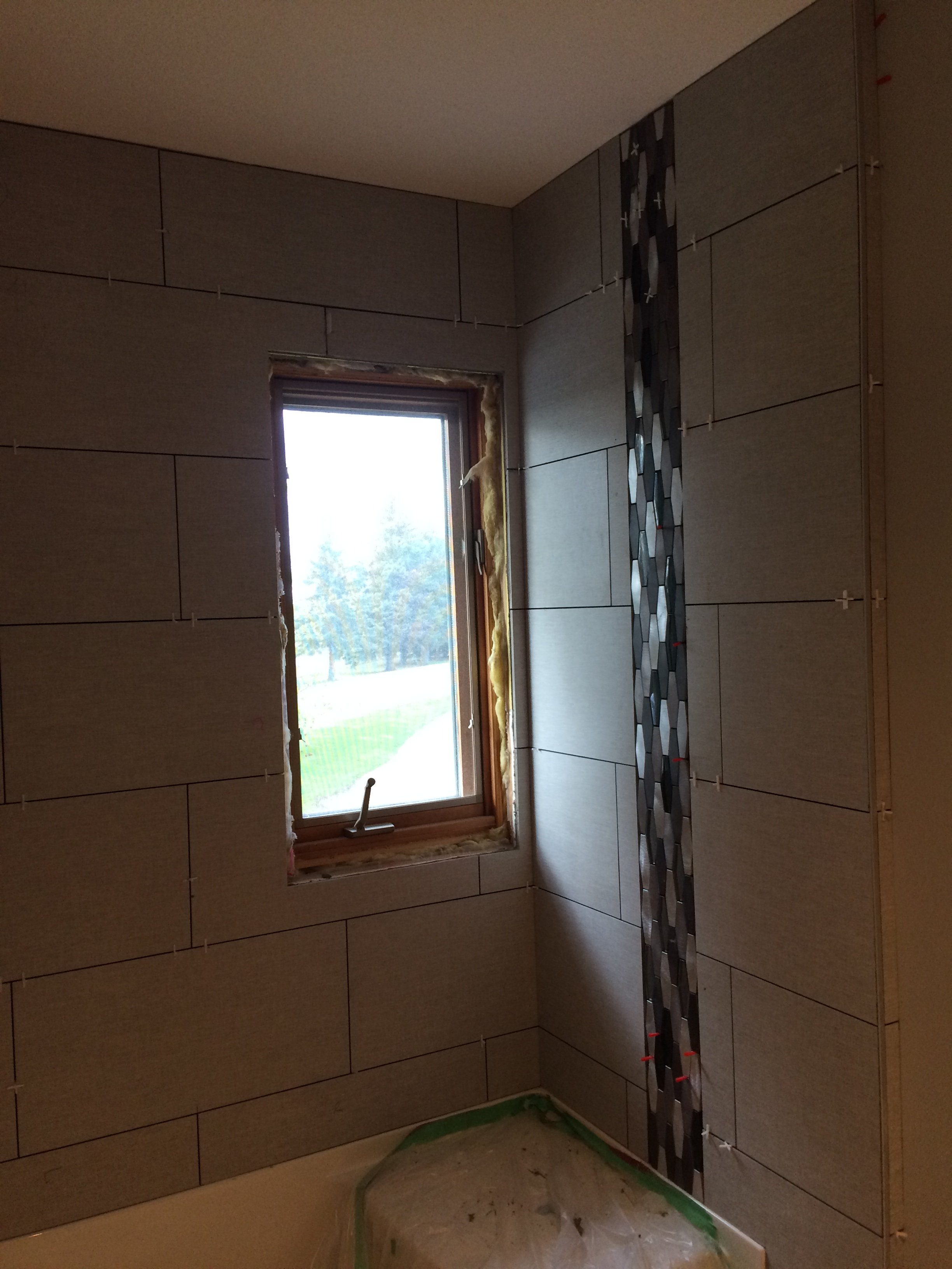 Bathroom renovation (during)