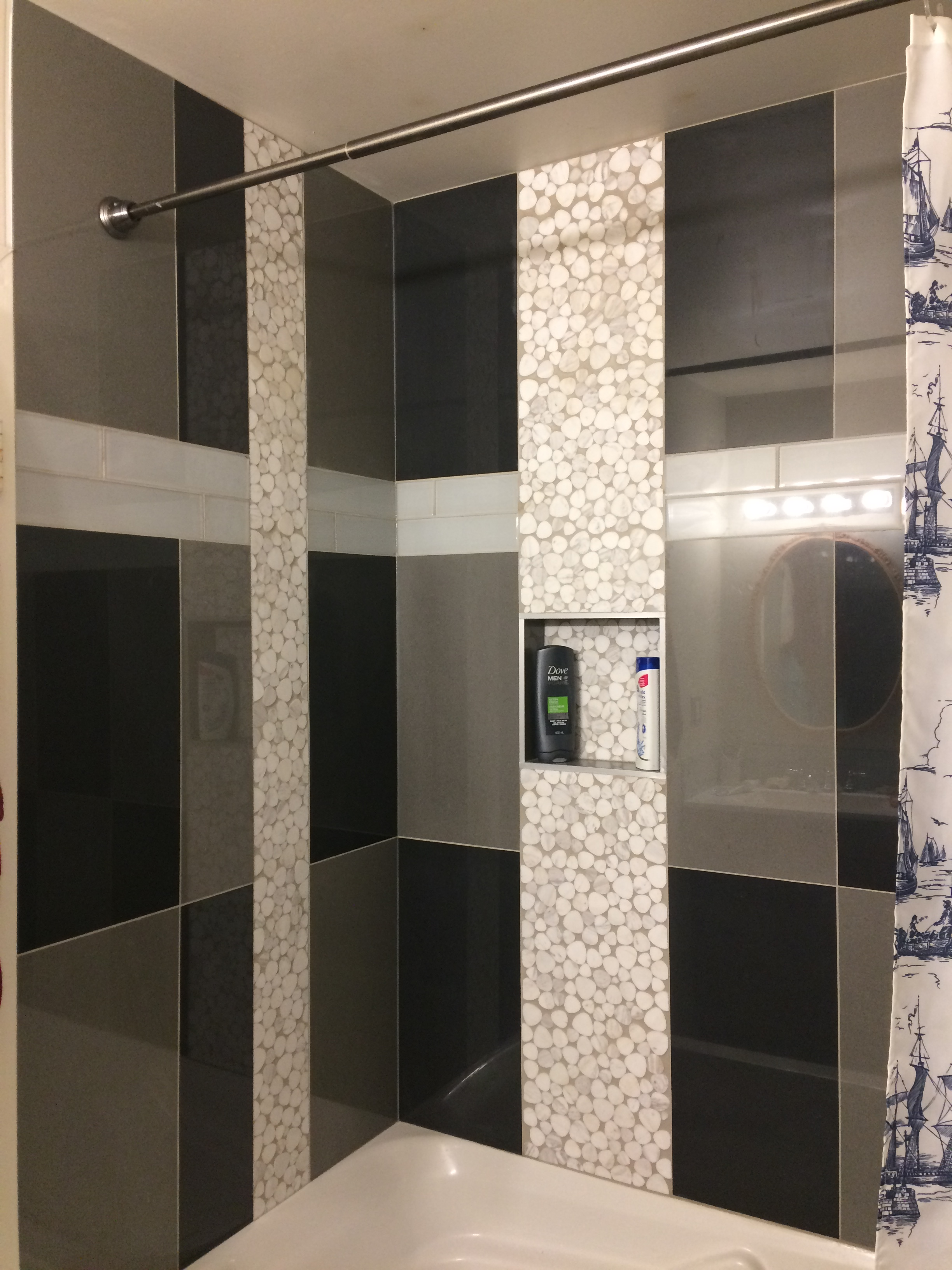 Bathroom tub surround reno (after)
