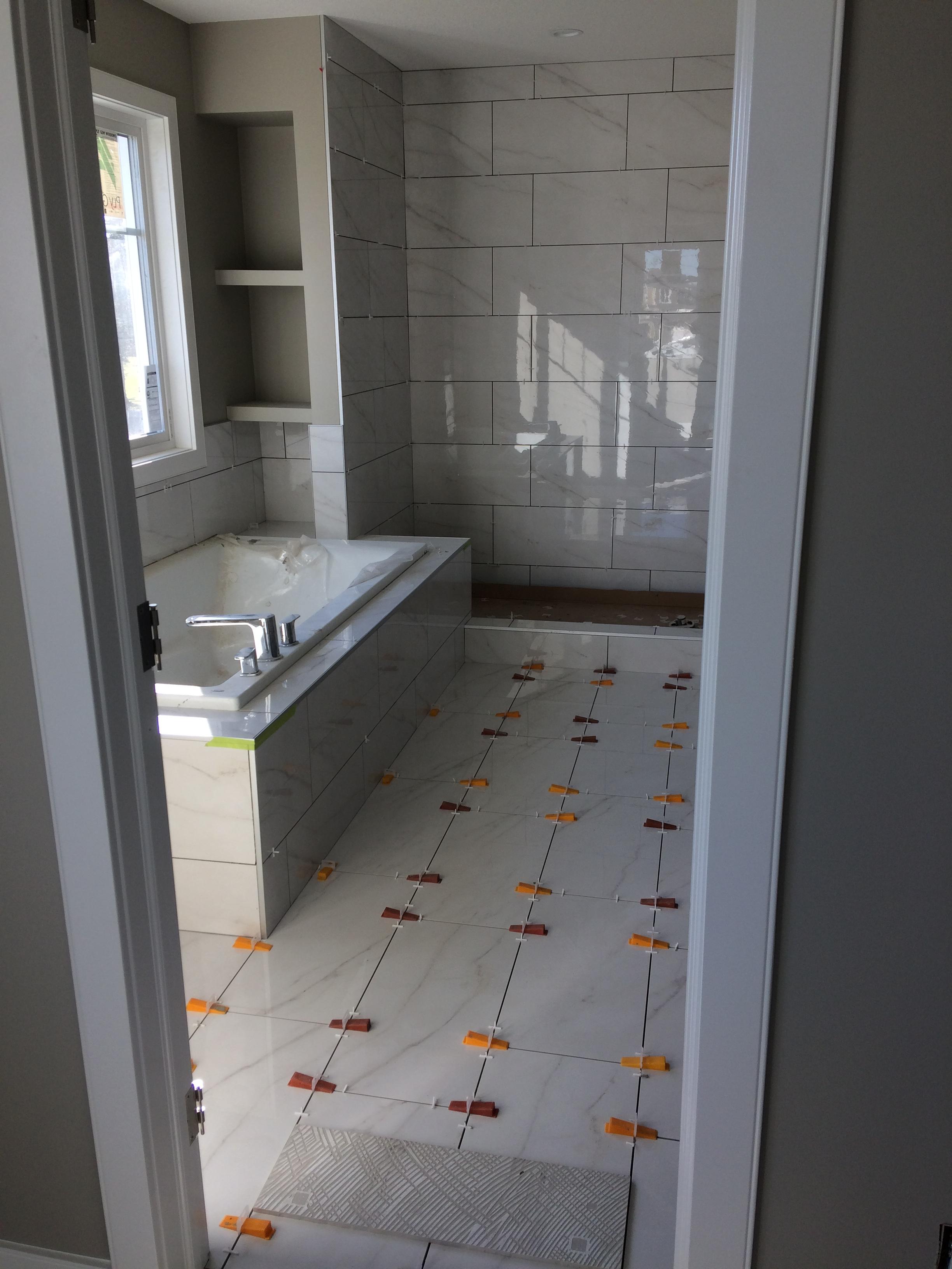 Main bath (during)