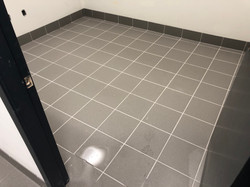 Commercial tile job. Langley Concrete factory addition