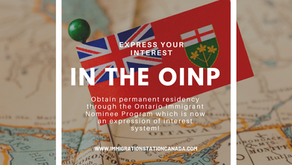 OINP - NEW INFORMATION!