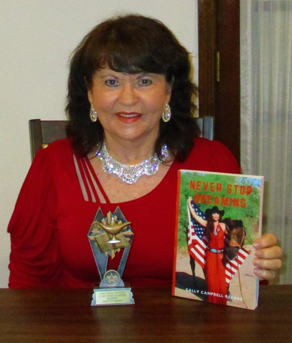 Author Wins First Award