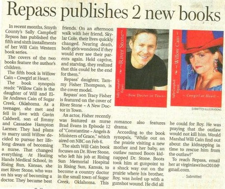 BOOKS 5 & 6 NEWSPAPER ARTICLE -5-2-15 (2
