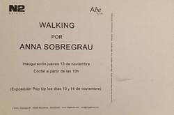 Walking invitacion