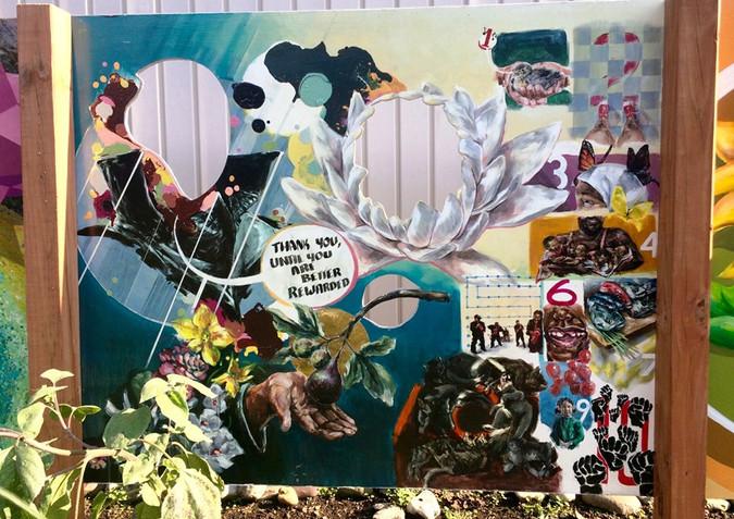 Marion Street Garden Mural