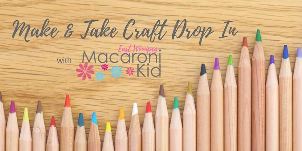 Make + Take Craft with Macaroni Kid