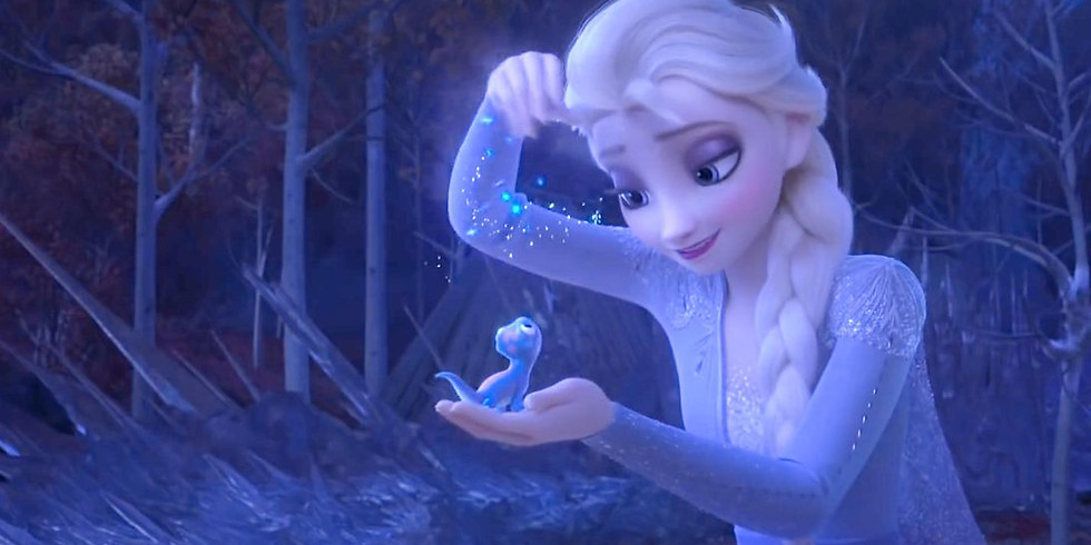 I Love To Read Month with Elsa