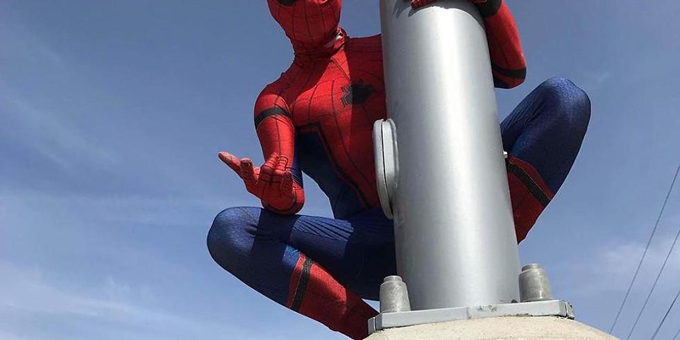 Super Sunday featuring Spider Man
