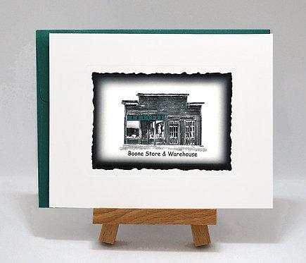 Boone Store & Warehouse PhotoCard