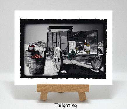 Tailgating PhotoCard