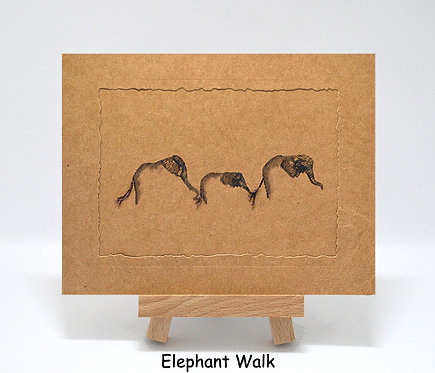 Elephant Walk PhotoCard