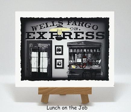 Lunch on the Job PhotoCard