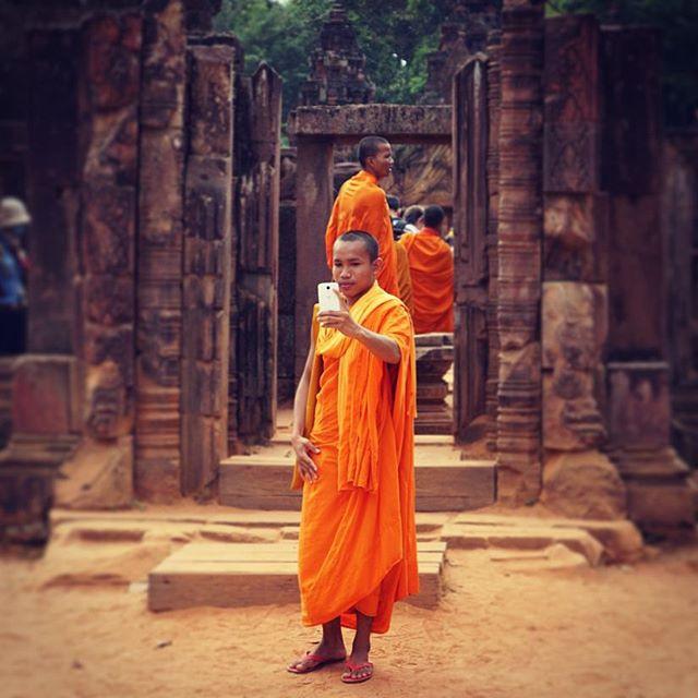Selfie, Siem Reap, Cambodia