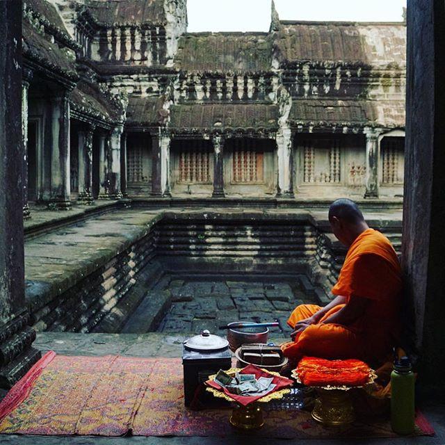 Monk, Siem Reap, Cambodia