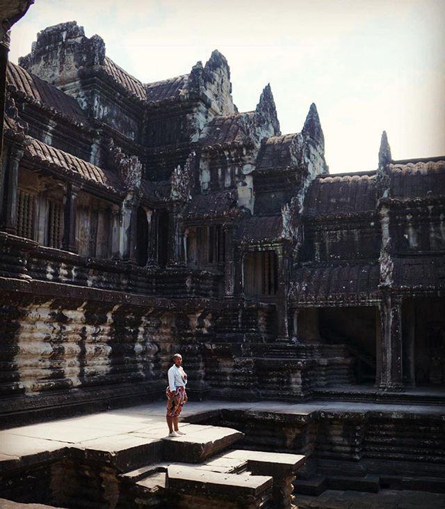 Self Portrait, Siem Reap, Cambodia