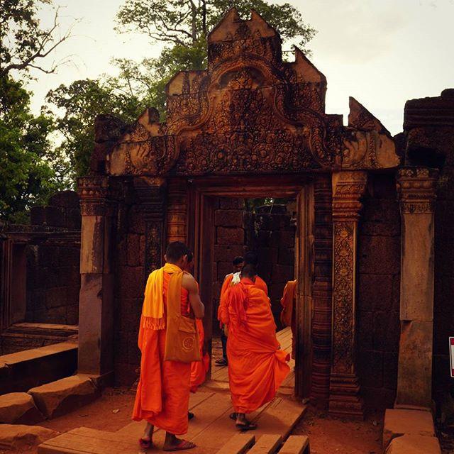Monks, Siem Reap, Cambodia