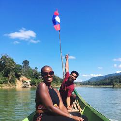 The Mekong River, Laos
