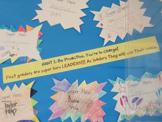 7 Habits in 1st Grade