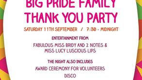 Big Pride Family Thank You This Saturday