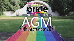 Swindon & Wiltshire Pride Annual General Meeting (AGM) 2021