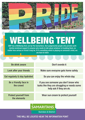Wellbeing Tent